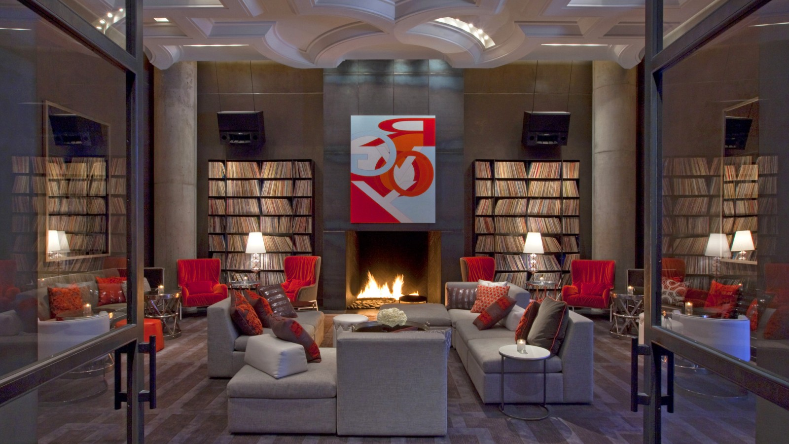 The w hotel austin vinylradar record shop directory for Living room austin