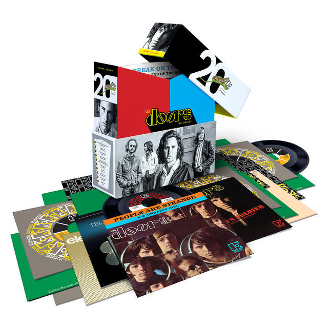 The Doors Singles Box ProductShot HiRes