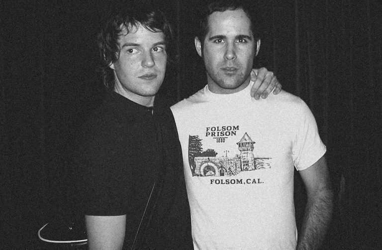 Brandon Flowers and Ronnie Vannucci of the Killers. 2004