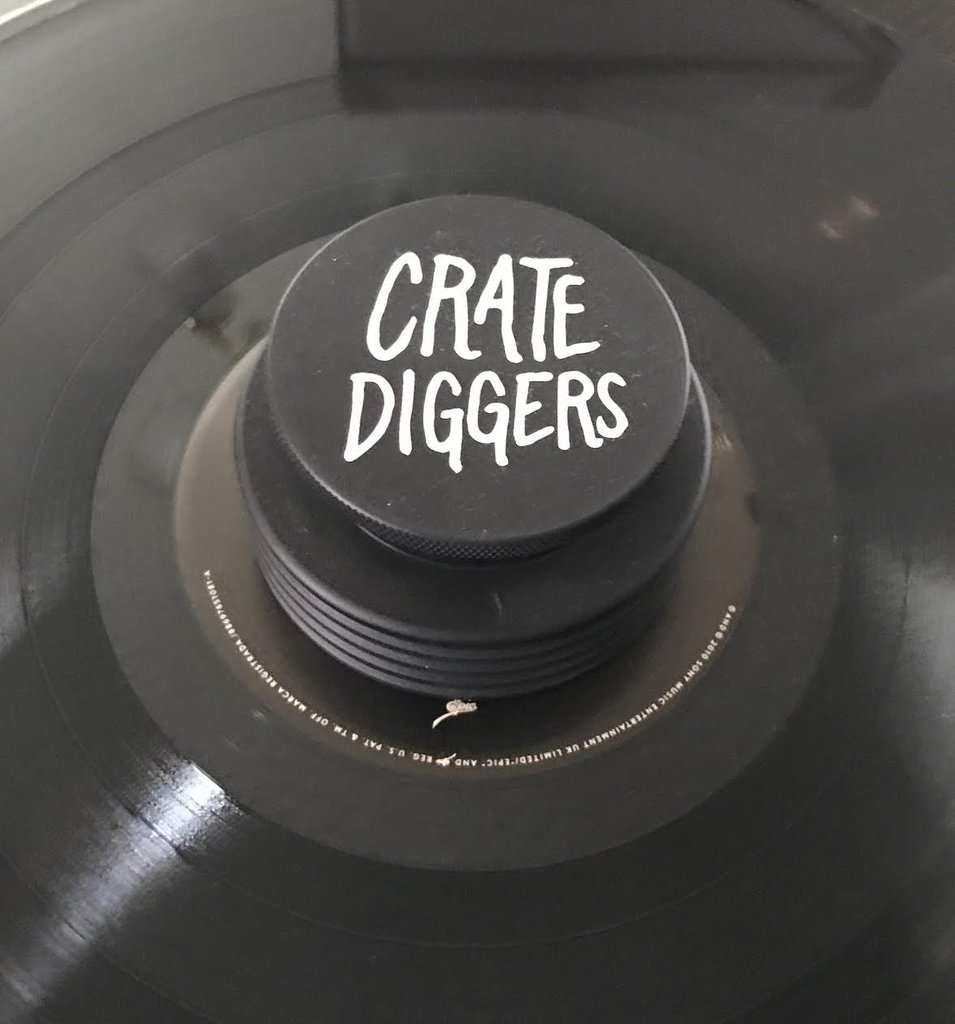 Crate Diggers Turntable Weight