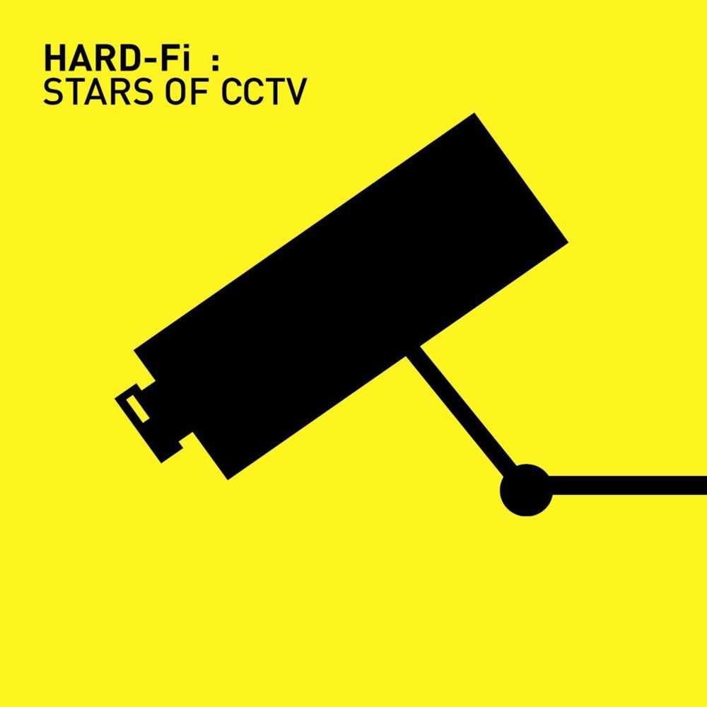 Artist: Hard-Fi Title: Stars of CCTV Label: Necessary Records Design by Albion
