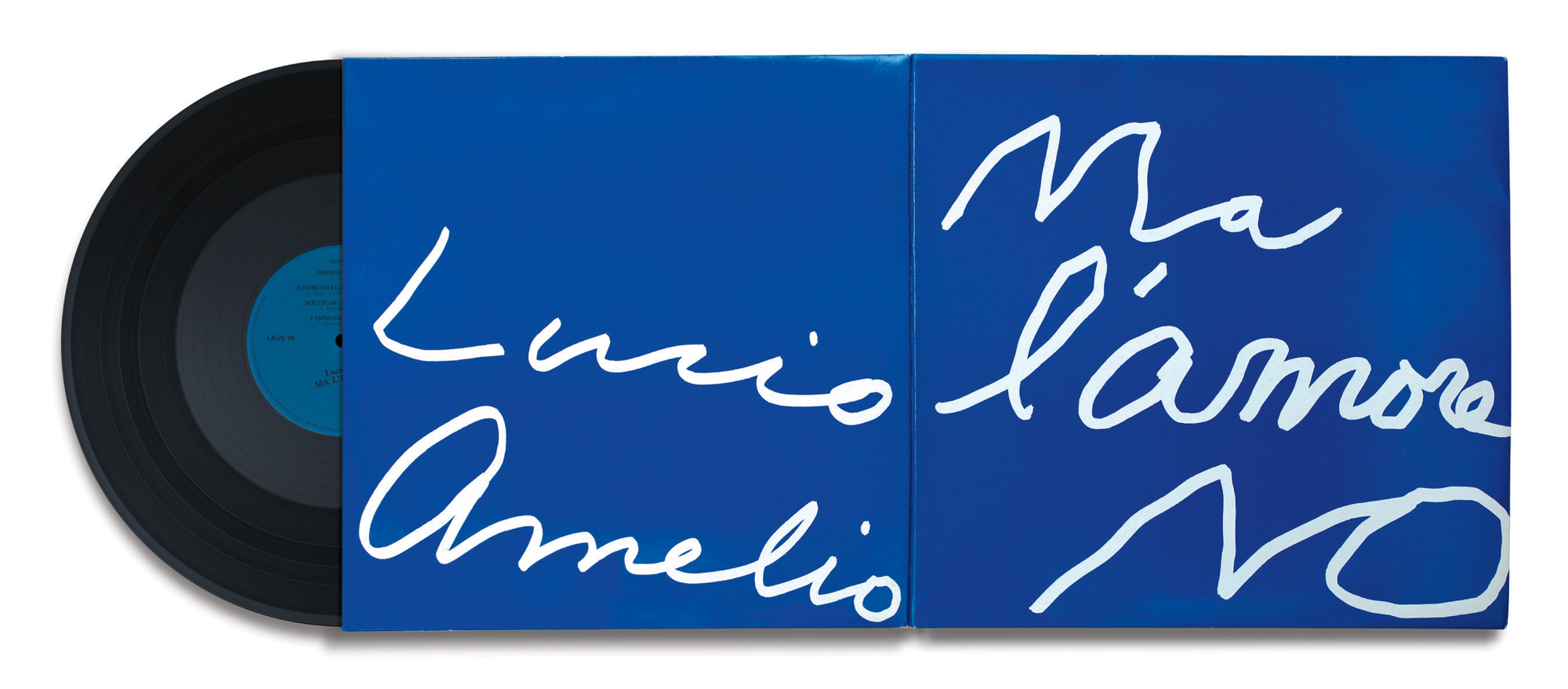 CY TWOMBLY, Ma l'amore No by Lucio Amelio