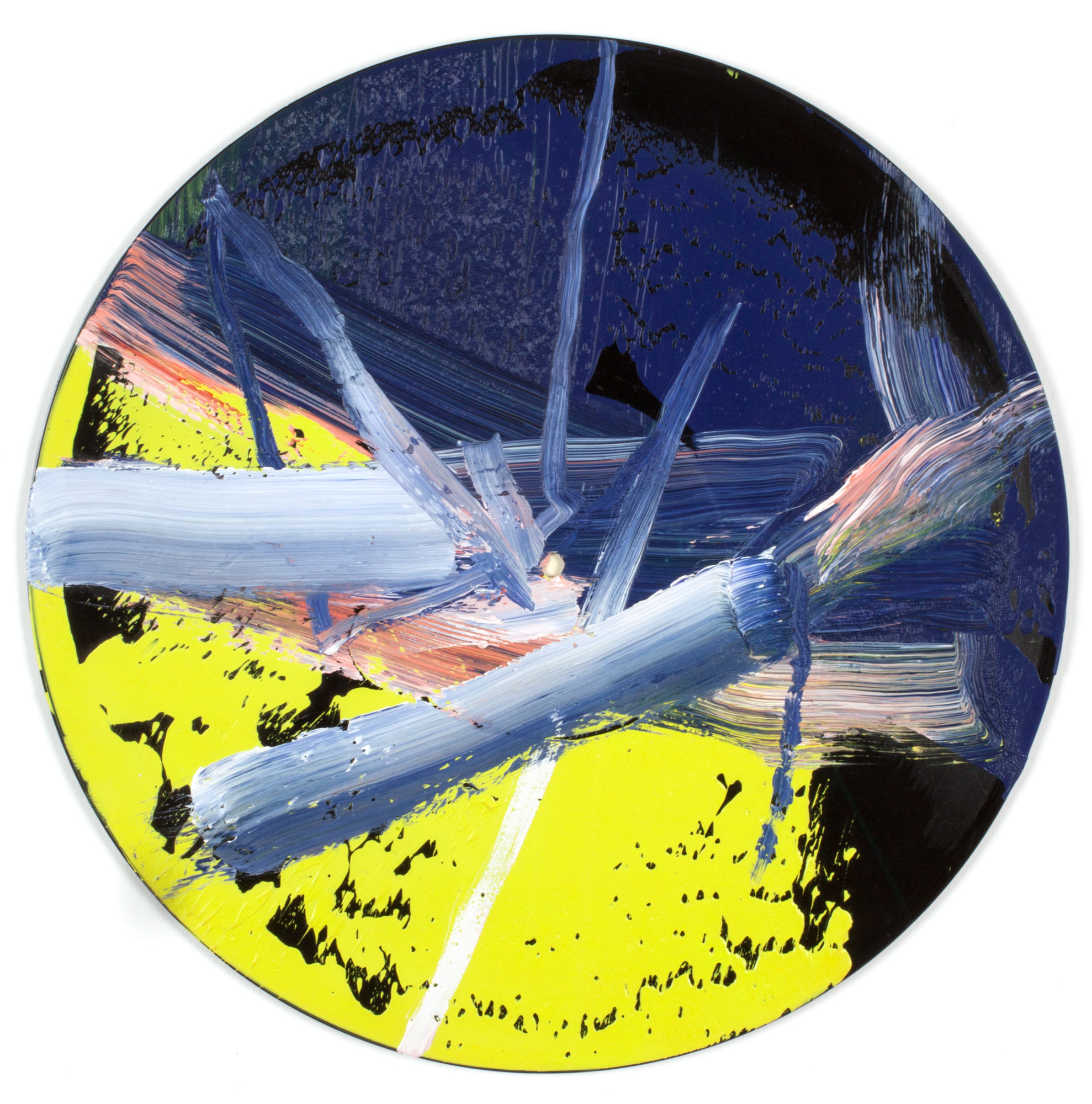 GERHARD RICHTER, Goldberg-Variationen (Butin 060), 1984 oil on vinyl record