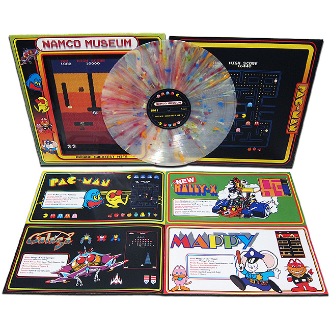 Namco Museum - Greatest Hits Exclusive Vinyl LP