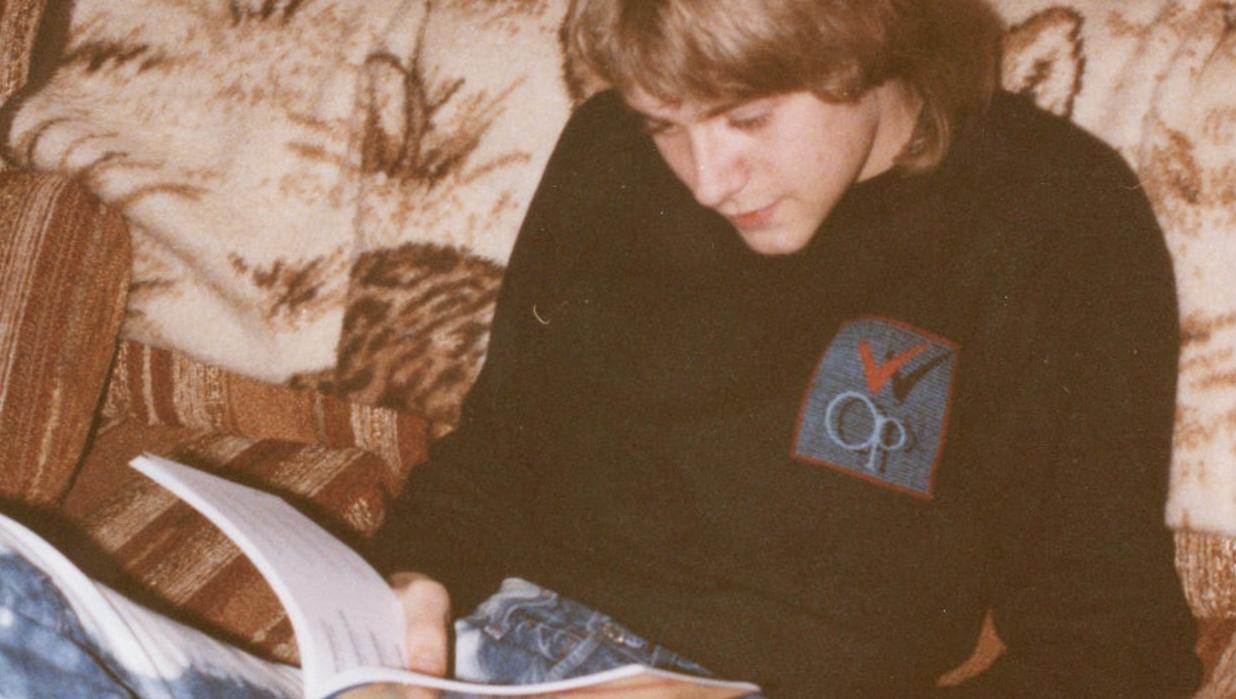 Cobain. December 24, 1986.