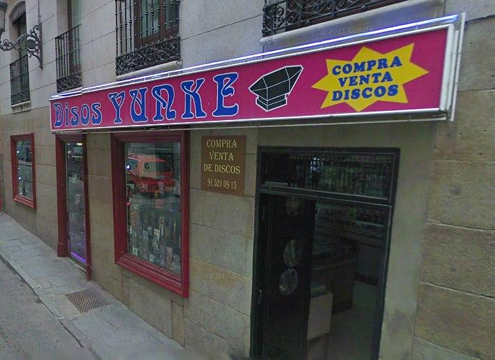 Discos Yunke, Madrid PHOTO: Google Street View