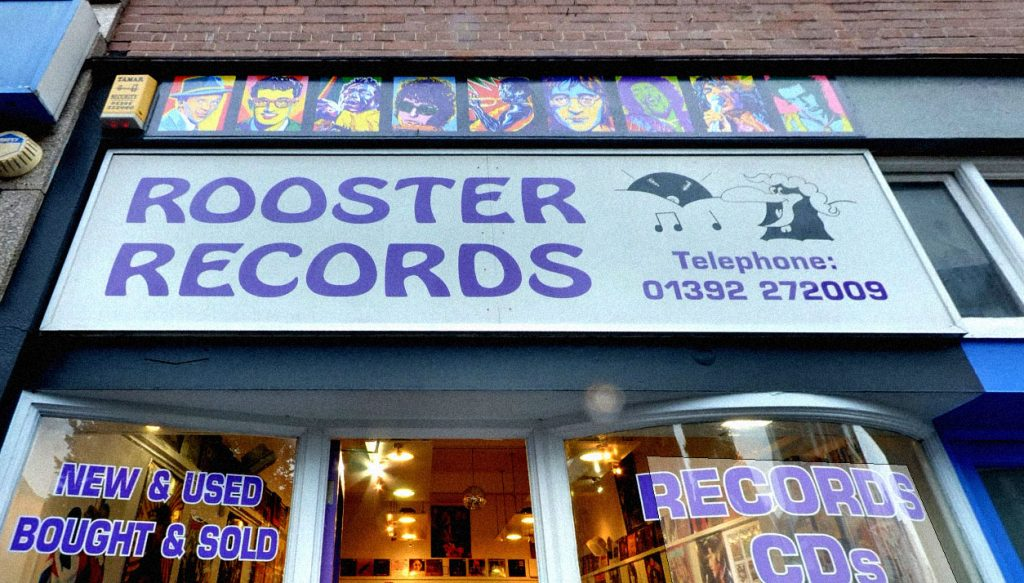 UK Exeter Rooster Records PHOTO Google Street View