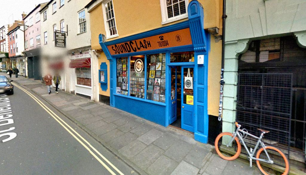 Soundclash Records in Norwich PHOTO: Google Street View