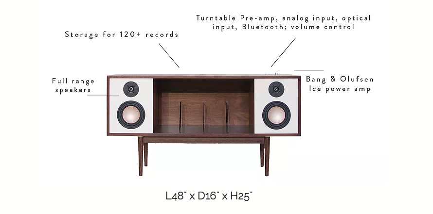 Hi-Fi Console: Department Chicago