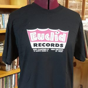 Euclid Records BLACK T-Shirt