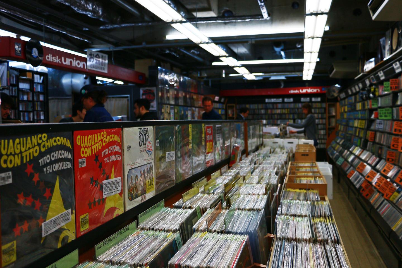 Disk Union Shibuya