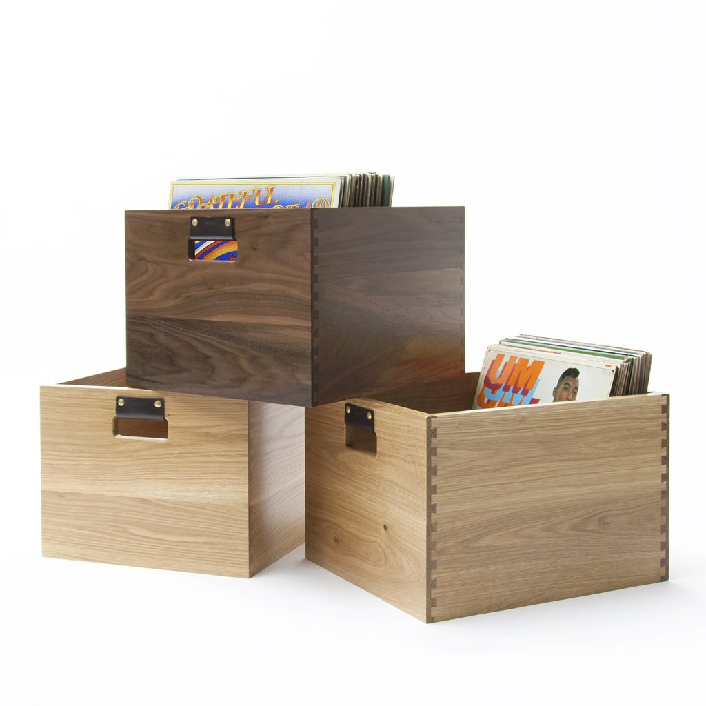 Scratch & Dent Dovetail Record Crate