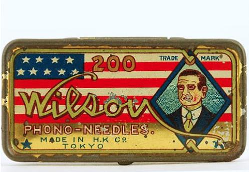 WILSON Gramophone Needle Tin - Circa 1914. $895.00