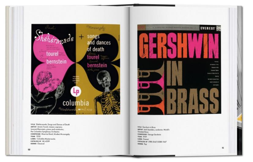 'Alex Steinweiss. The Inventor of the Modern Album Cover' (Taschen)