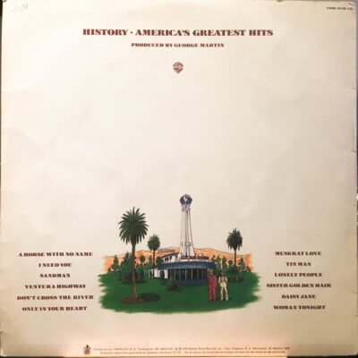 America (2) ‎– History · America's Greatest Hits (LP)