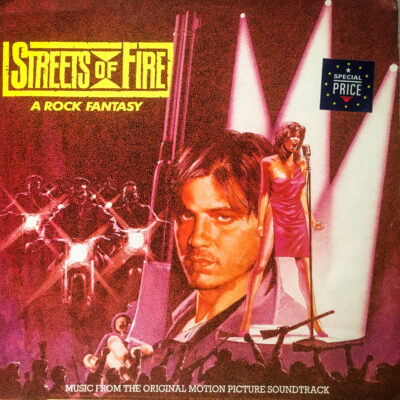 Various ‎– Streets Of Fire - Music From The Original Motion Picture Soundtrack